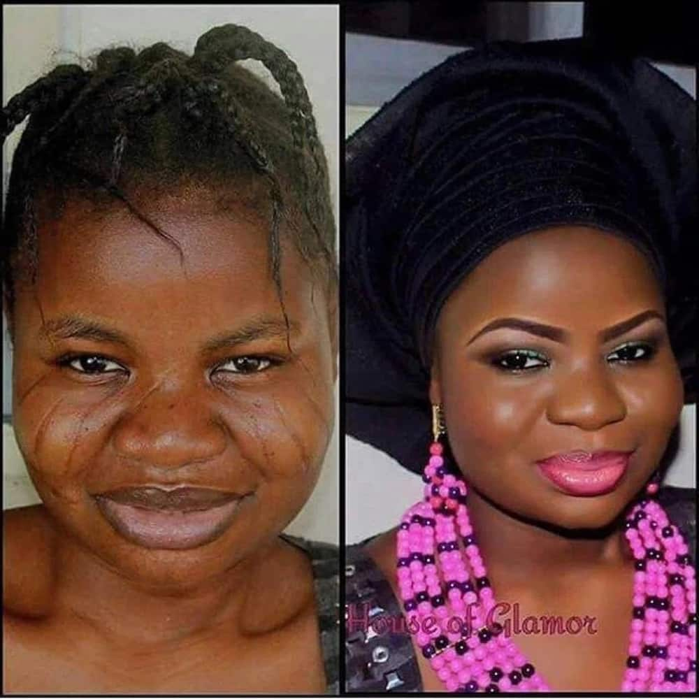 15 times Nigerian women deceived men with their makeup