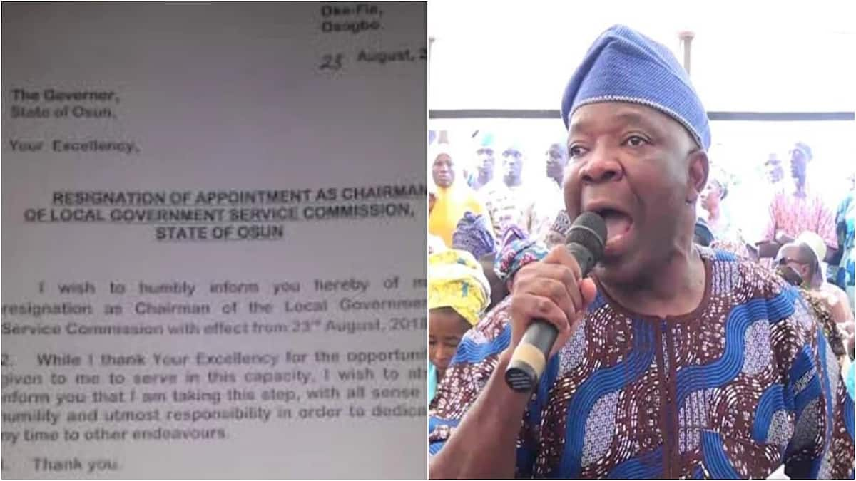Osun 2018: More problem for APC as Aregbesola's aide resigns appointment, set to join PDP