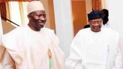 2019: Jonathan, Babangida hold important meeting in Minna
