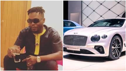 Olamide reportedly adds another luxury car to his garage, purchases Bentley