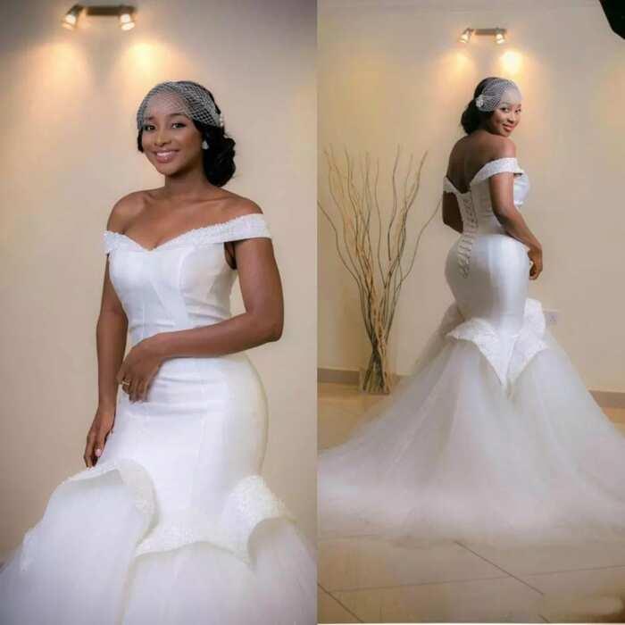 3f77ff0f7e91e8 Latest wedding gowns in Nigeria 2017-2018 ▷ Legit.ng