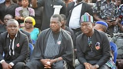 Battle formation: Ortom's govt launches tough challenge at Akume, drops bombshell on APC