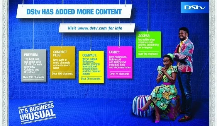 DStv Nigeria subscription packages