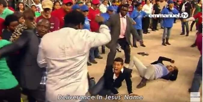 How TB Joshua Delivered Man Dining With Satan (Video