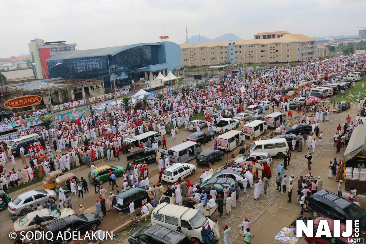 Breaking: Kwankwaso declares for presidency in Abuja after reported denial to use Eagles Square
