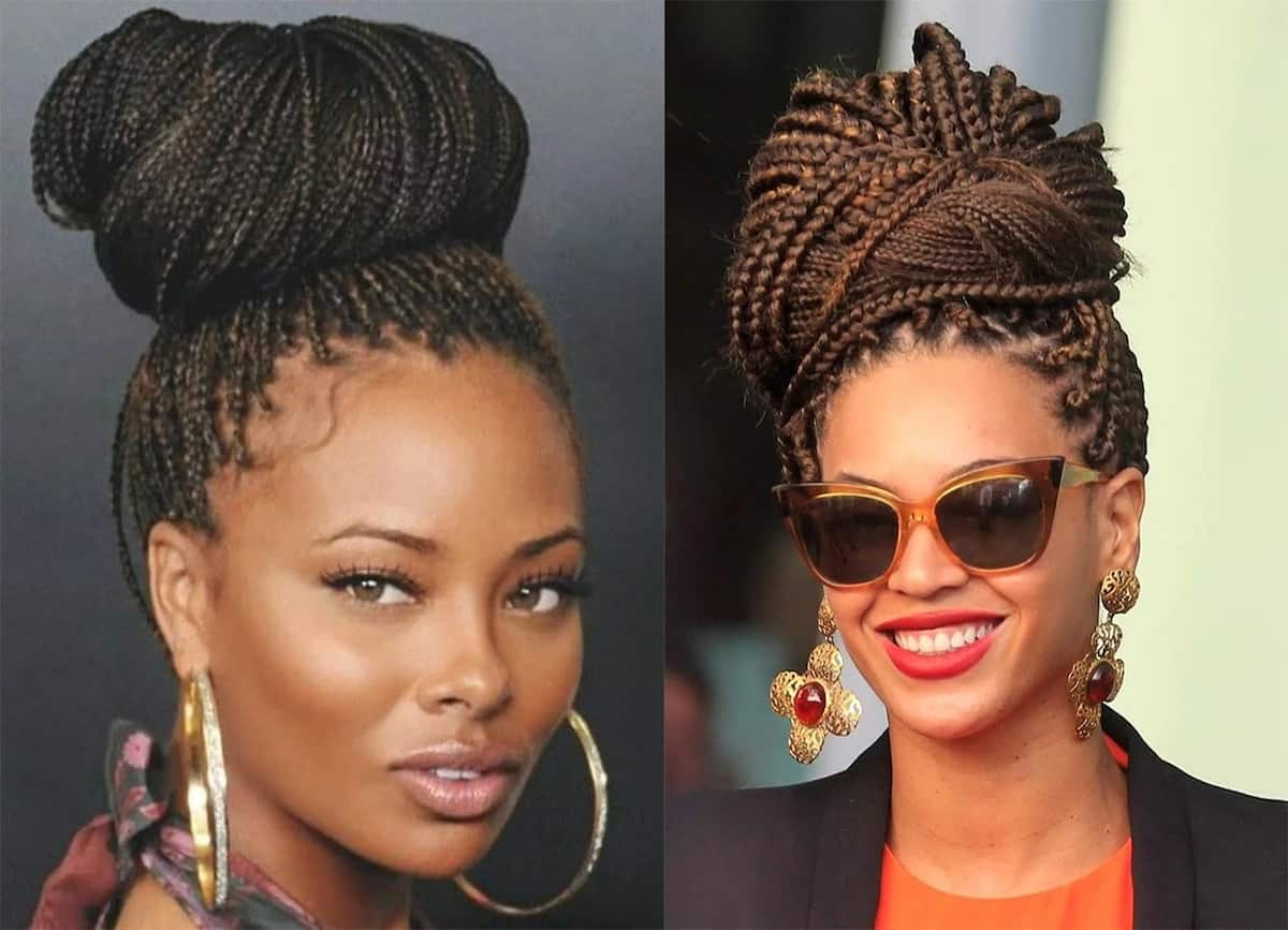 How to pack braids in different hairstyles? Legit.ng