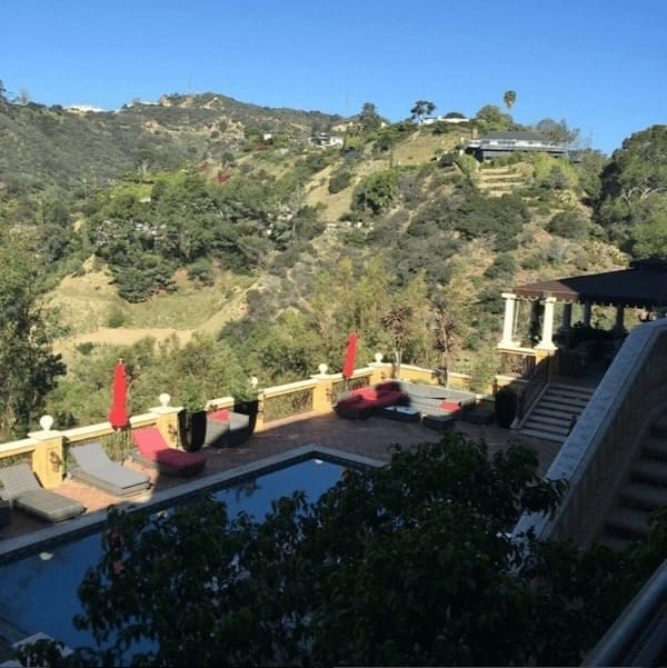 Wizkid new house with areas for recreation in Los Angeles
