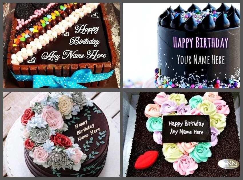 10 Most Beautiful Chocolate Birthday Cake Designs Legit Ng