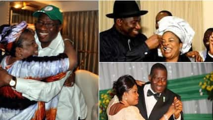 Jonathan@61: 7 throwback photos of ex-president of Nigeria Goodluck Jonathan and his wife