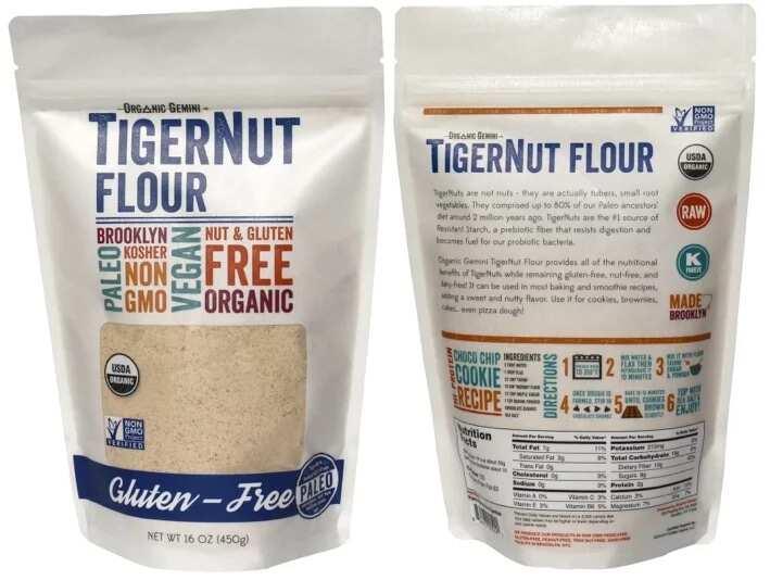 Tiger nuts flour