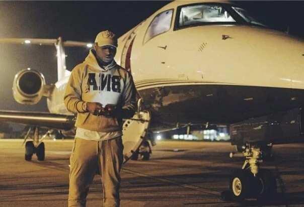 Davido's father private jet
