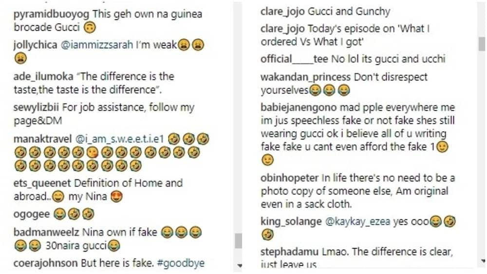 Nina under fire for allegedly wearing a fake Gucci tracksuit