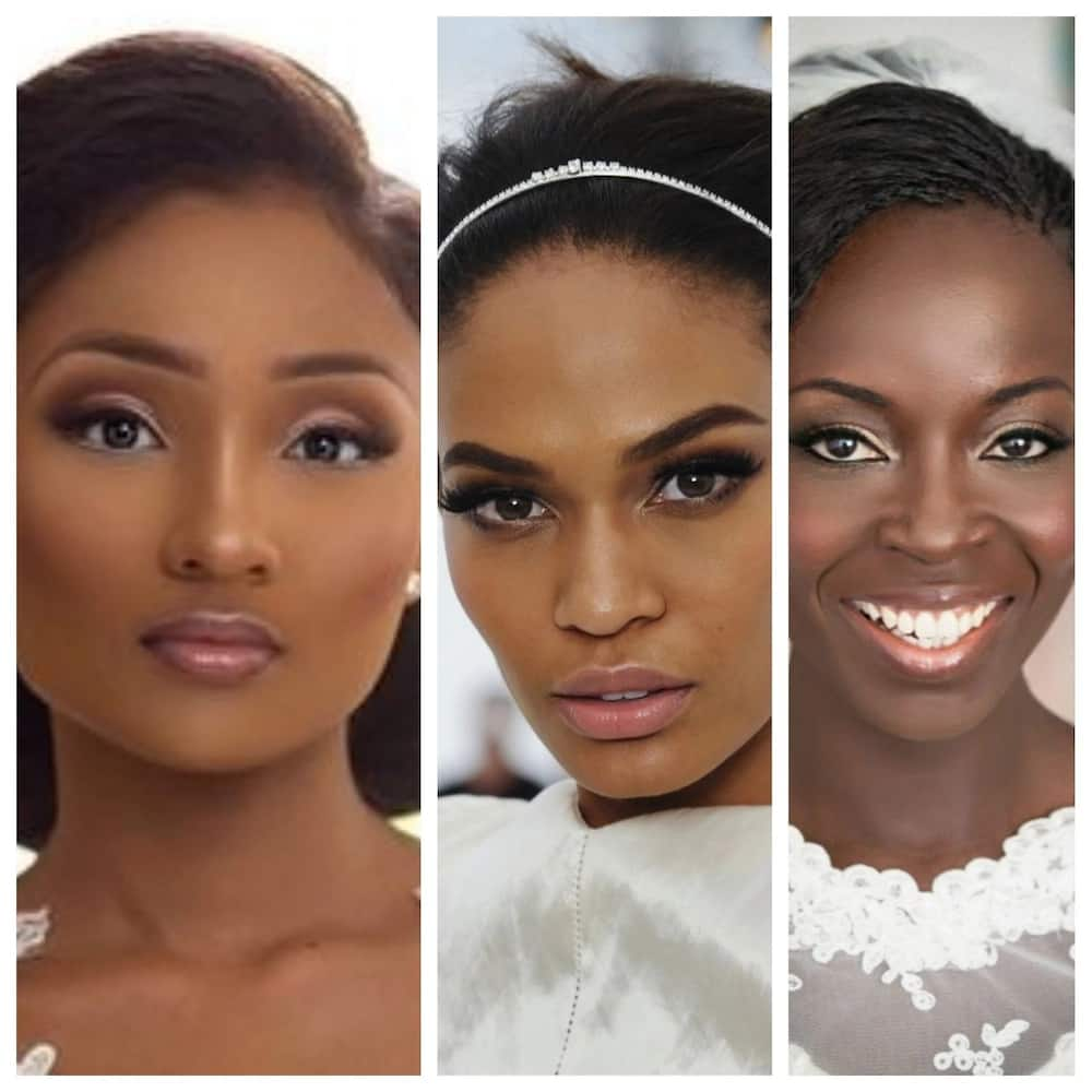 If you don't have the opportunity to visit a makeup artist on your wedding day, you can teach yourself with makeup tutorial lessons.