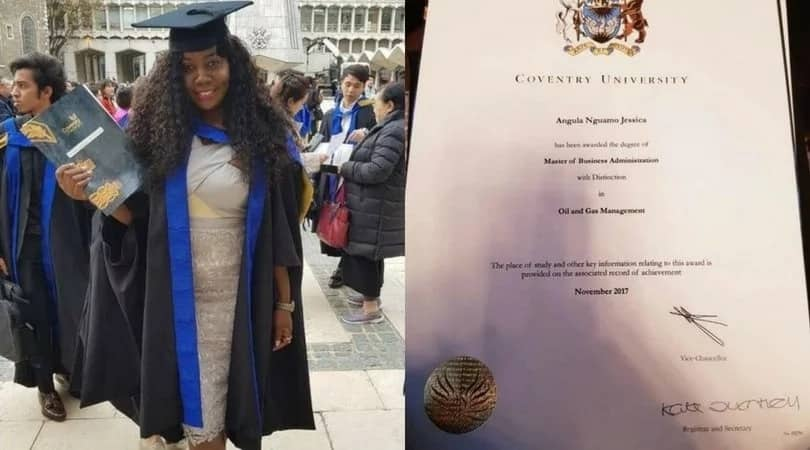 Nigerian journalist leads outstanding Nigerian scholars in the UK with a distinction