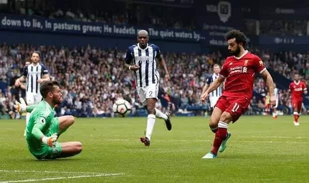 West Brom force Liverpool to 2-2 draw in Premier League tie