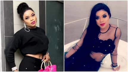 Bobrisky angrily sacks his driver who he pays N300,000 per month, says he was disrespectful