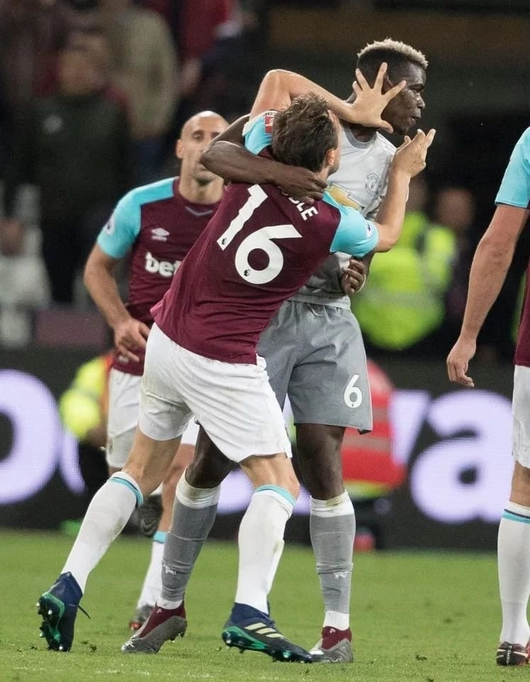 They 'looked in love' - Jose Mourinho reacts to Noble and Pogba bust-up