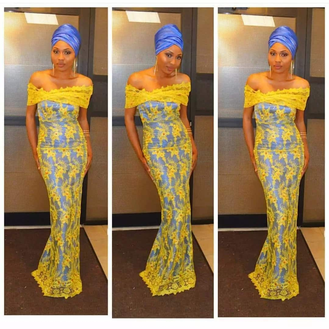 Latest Aso Ebi lace styles 2017 for ladies