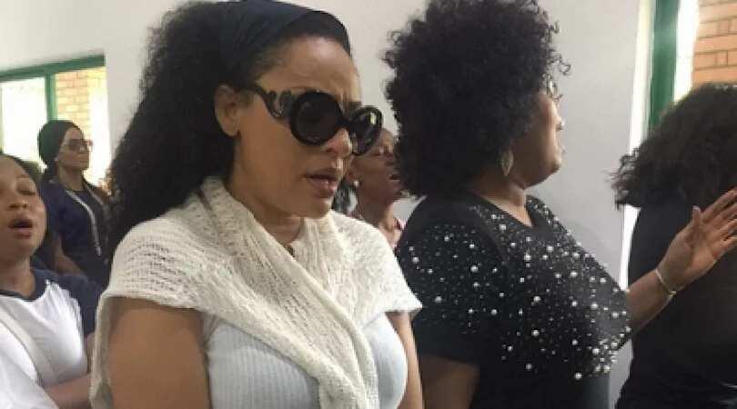 Ini Edo, Monalisa Chinda, Rita Dominic attend burial for Actress Eucharia Anunobi's son (photos)