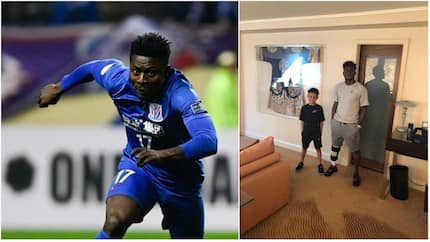 Nigerian forward Obafemi Martins shares adorable picture with his son