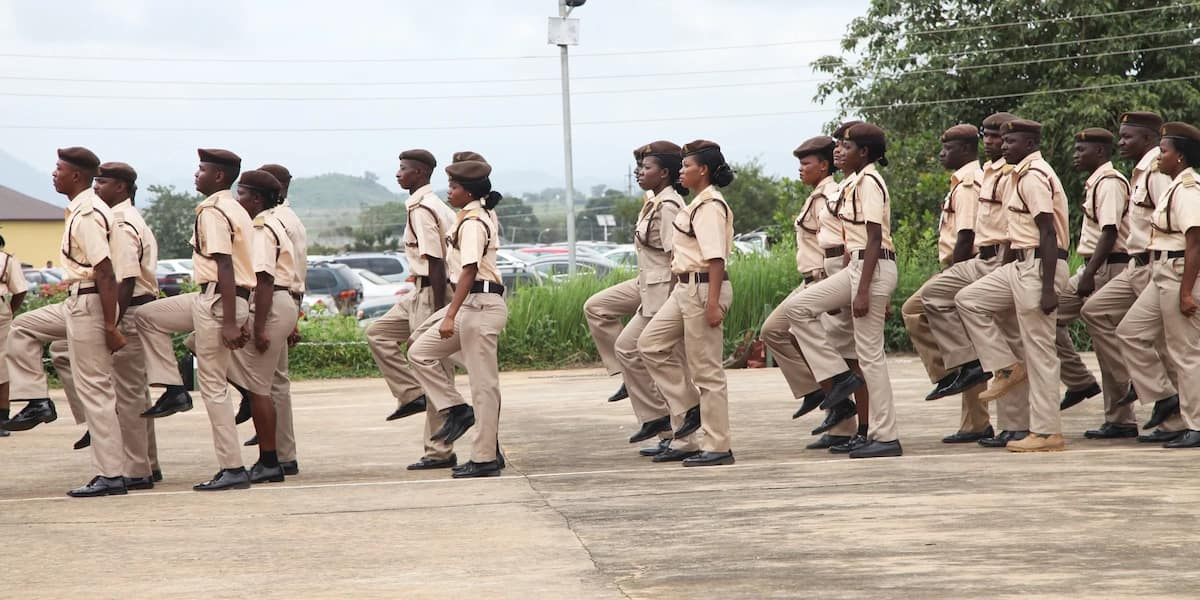 Nigeria Immigration Service officers