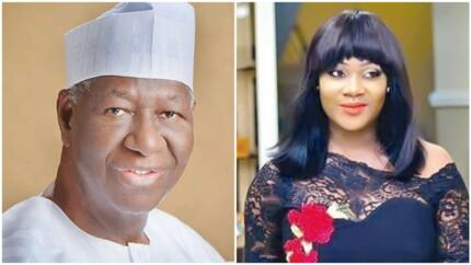 You will surely be missed daddy - Top Nollywood actress says as she mourns Tony Anenih (photo)