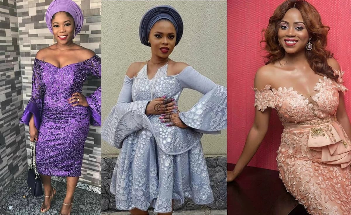 dd1d3a15739 Aso ebi styles for pregnant ladies 2017 ▷ Legit.ng