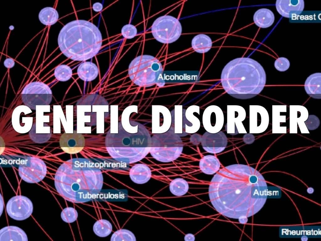 Genetic disorder contains a lot of details