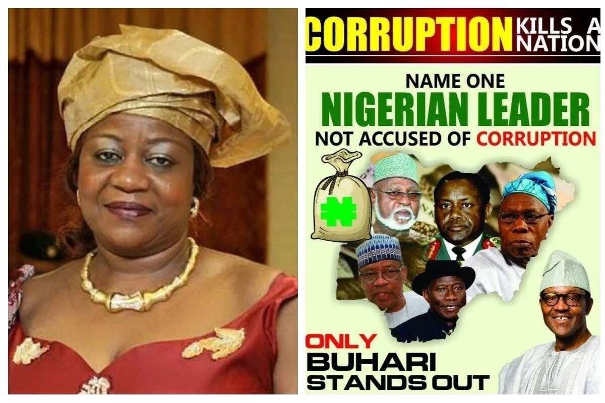 Shugaba Buhari ne kadai ba barawo ba a Najeriya – Lauretta Onochie