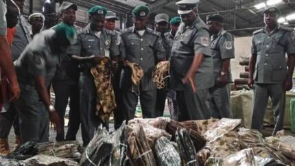 Nigeria Customs seizes military hardware, cars worth N1.2 billion