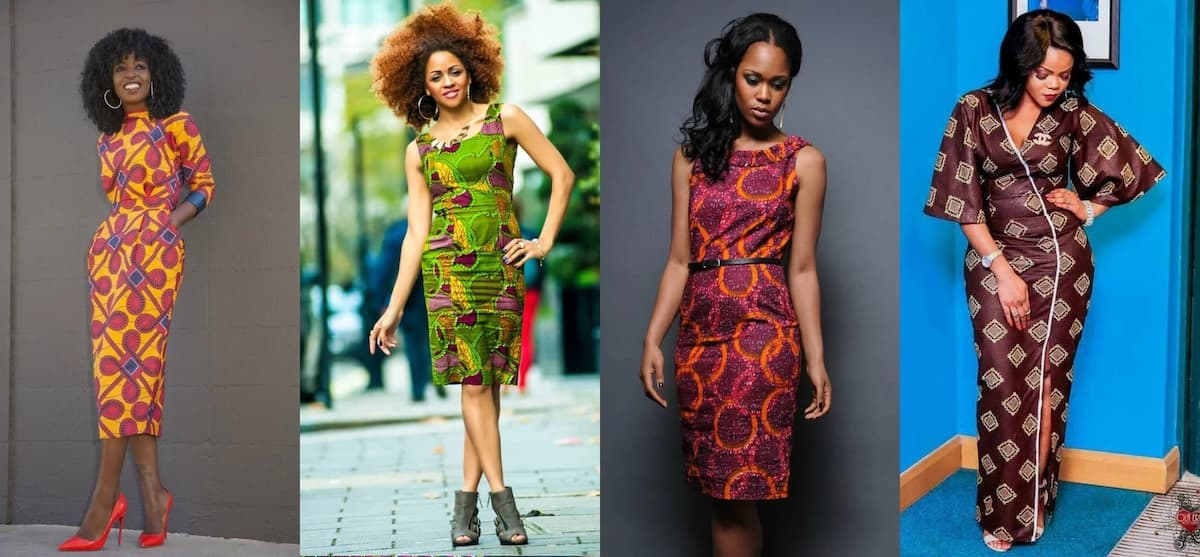Latest Nigerian English Gowns: Latest Ankara Straight Gowns For Nigerian Beauties Legit.ng