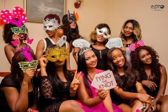 Future bride and her friends