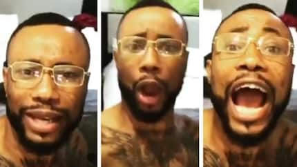 See the heavily tattooed Nigerian musician people are saying is a member of the Illuminati
