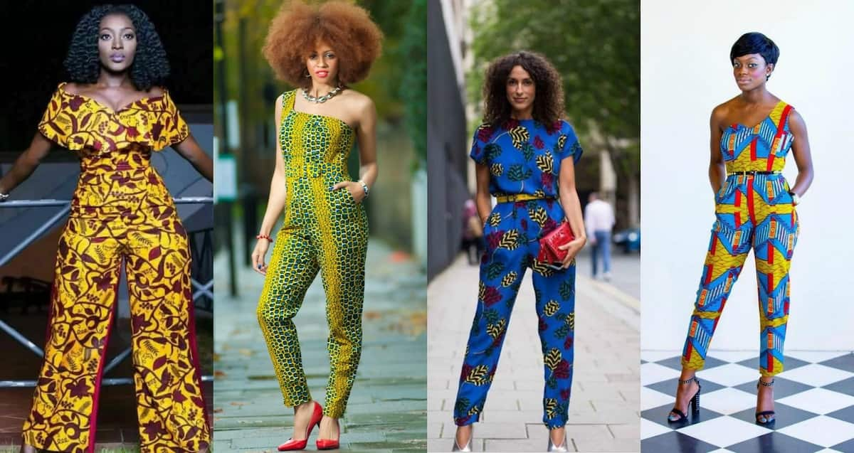 African Print Jumpsuit Styles For Nigerian Fashionistas Legitng