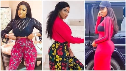 Nollywood actress Chika Ike's new photo sparks plastic surgery rumour, she reacts