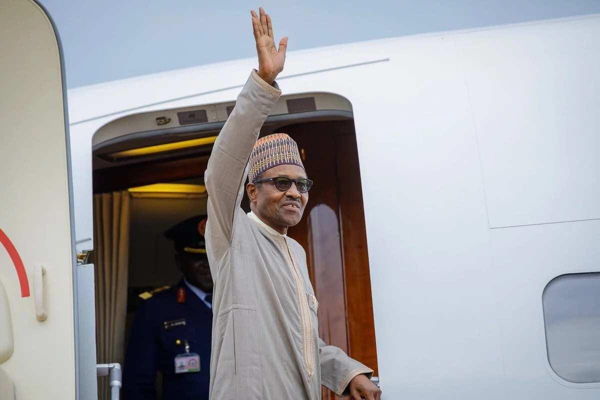 President Buhari departs Abuja for Beijing