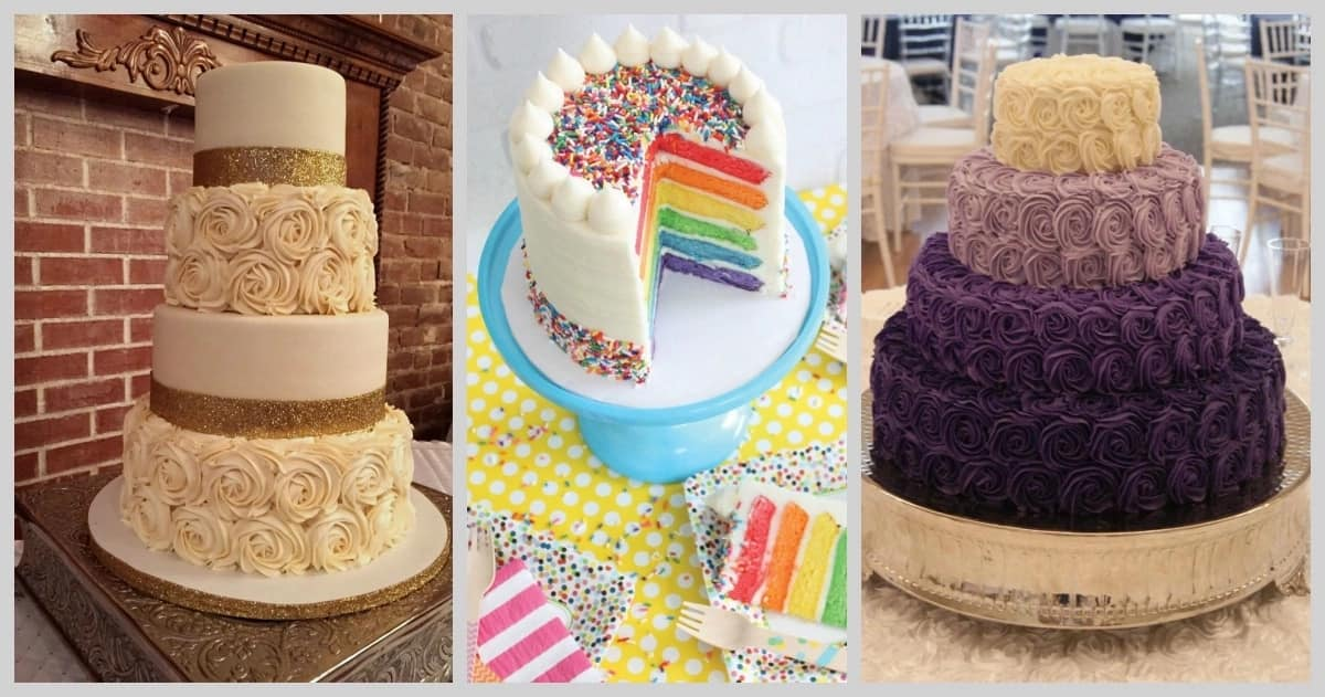 Latest butter icing designs for cakes in Nigeria you will love