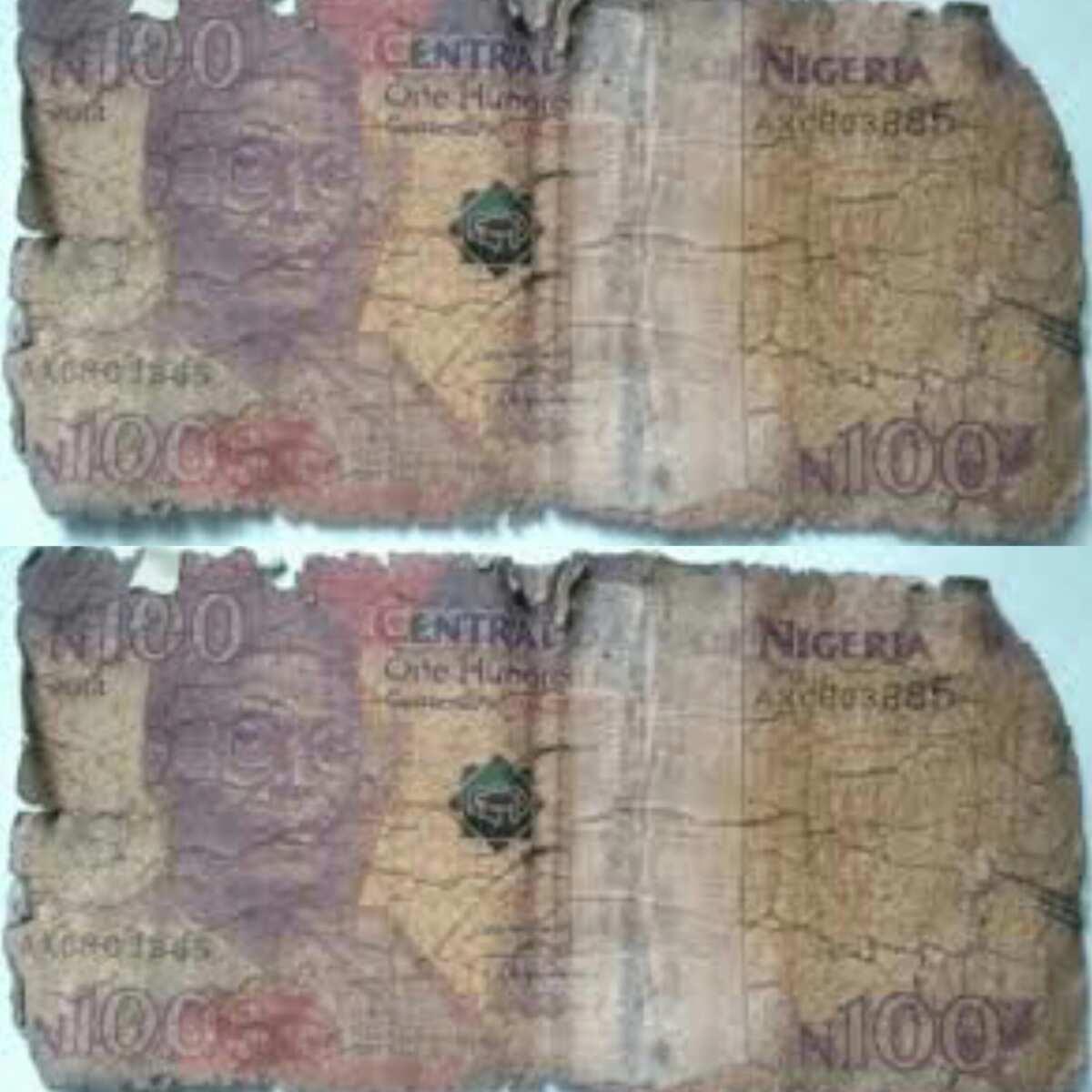 Yan Nigeria sun koka kan yawaitar Lalatattun N100, sun roki Shugaban kasa da CBN da a bugo sabbi