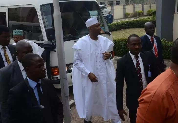 CCT trial: Saraki appears in court for the 7th time