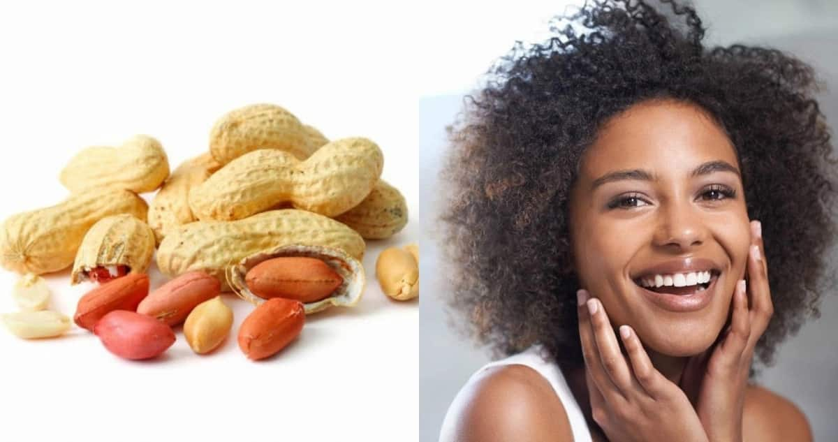 Benefits of groundnut for skin