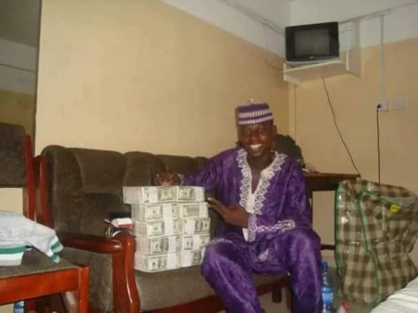A yahoo boy in Nigeria