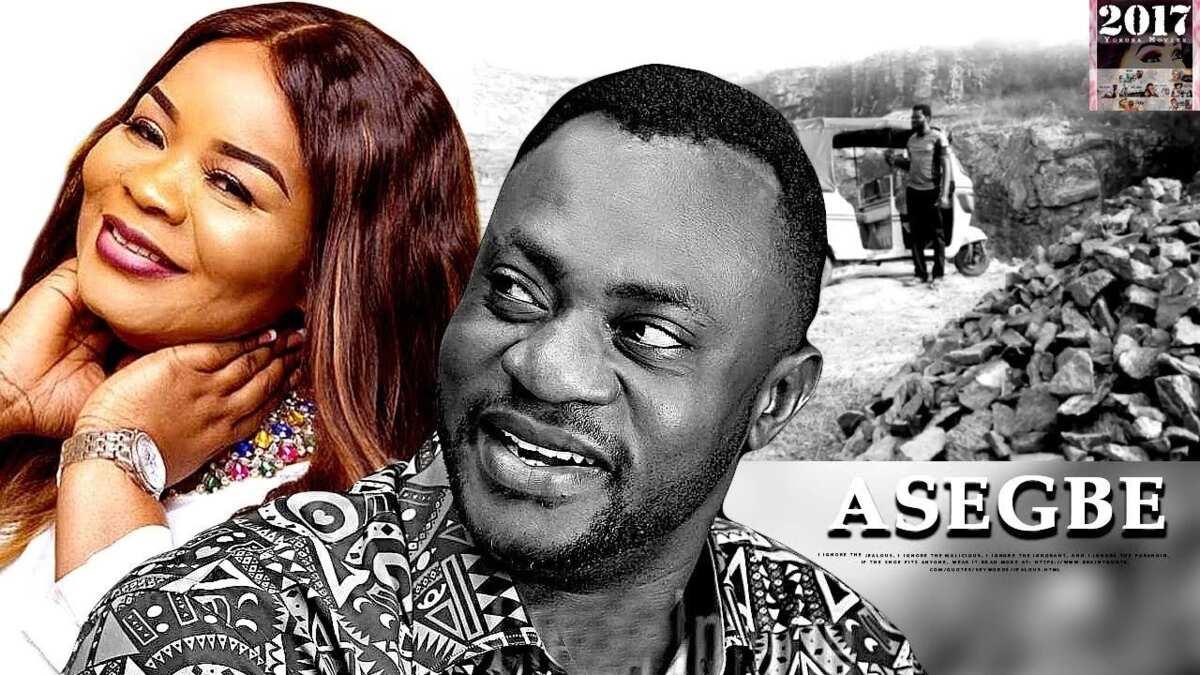 Asegbe latest Yoruba movies by Odunlade Adekola