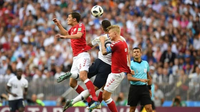 France, Denmark secure spots in the knockout stage after recording the first goalless draw at the 2018 FIFA World Cup
