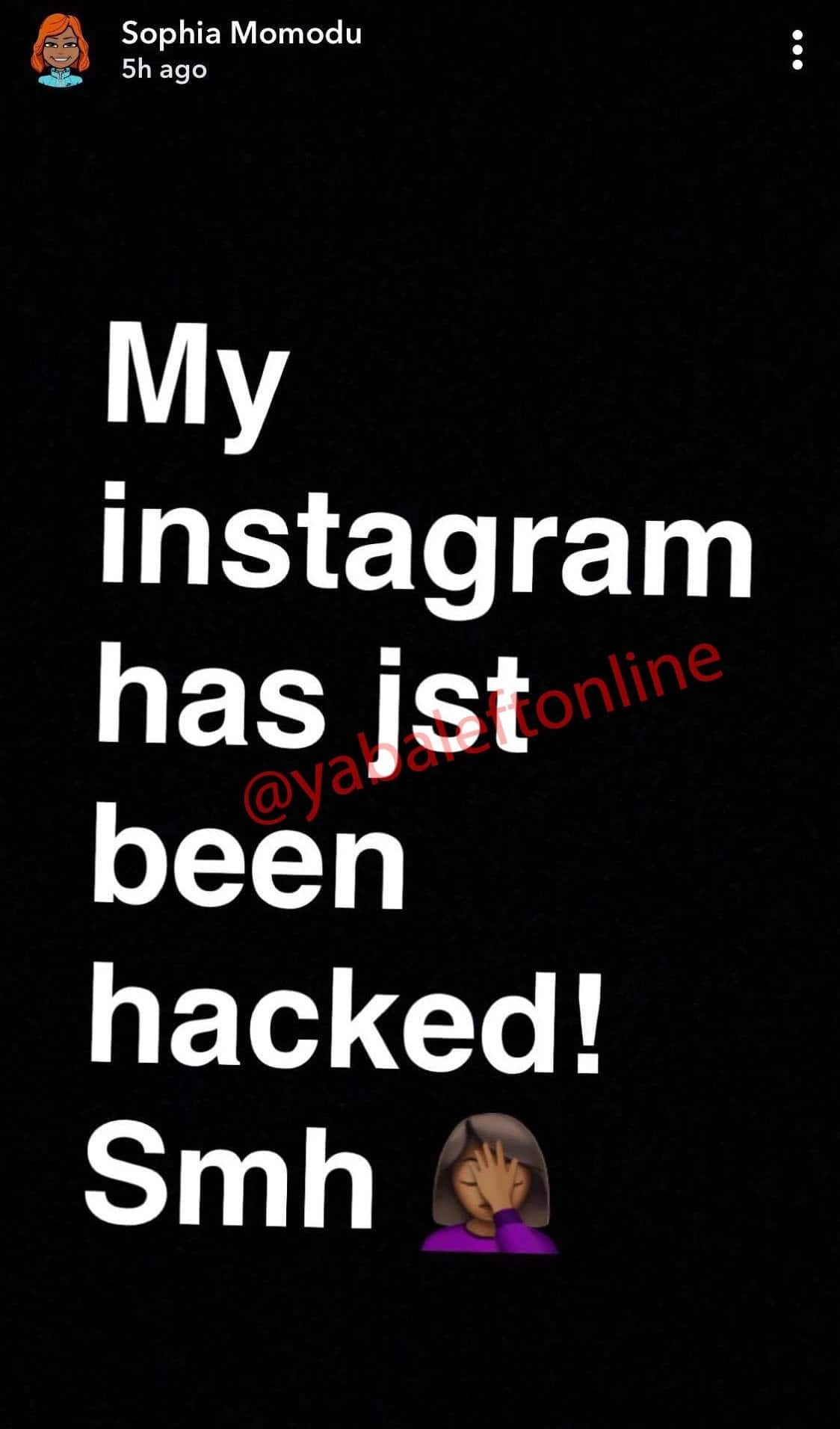 Davido's baby-mama Sophia Momodu denies deactivating her Instagram over Davido's girlfriend Chioma