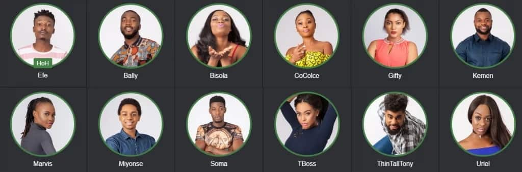BB Naija housemates 2017