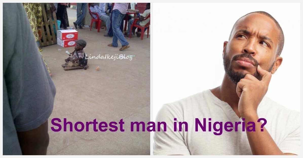 Shortest man in Nigeria?