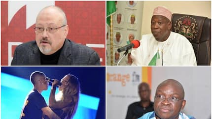 Fayose vs EFCC, Khashoggi: A review of 6 big stories within the week