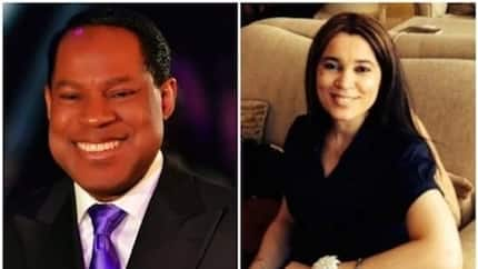 Pastor Chris Oyakhilome's ex-wife remarries! (see photos)