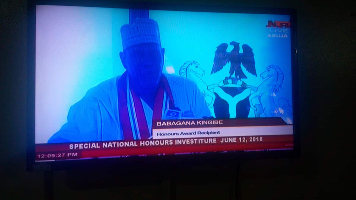 LIVE UPDATES: Excitement in Aso Rock as top Nigerians gather for late MKO Abiola's honour