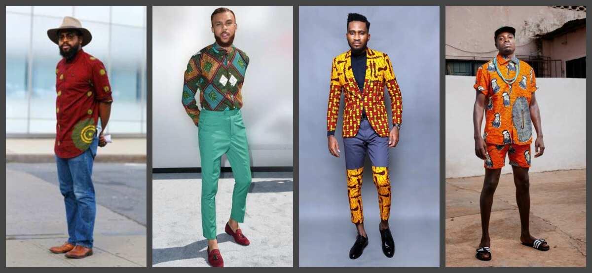 Different Ankara styles for men